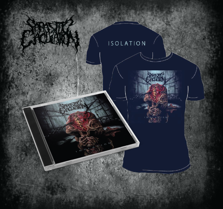 Image of Isolation CD + shirt bundle *PREORDER*