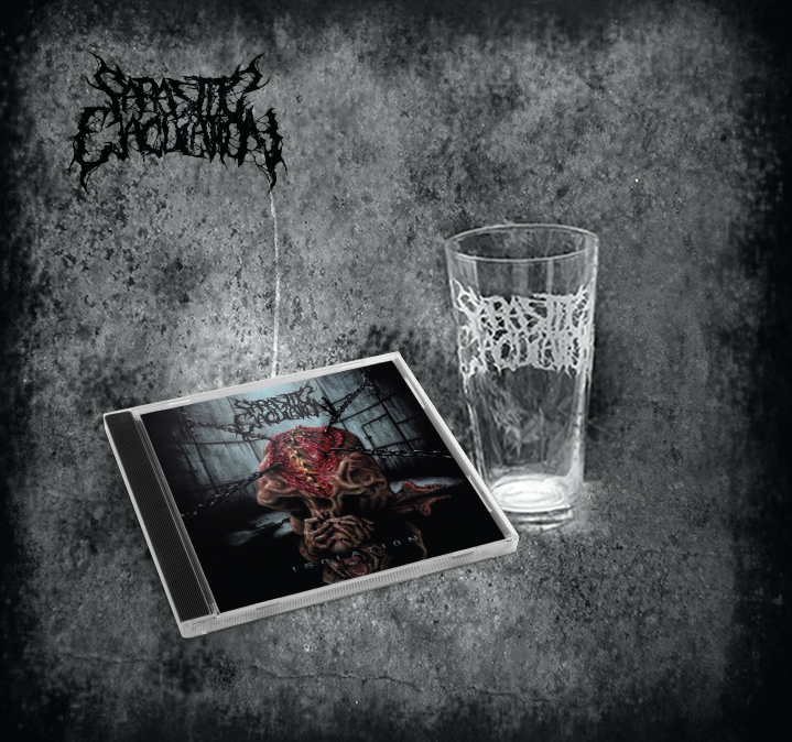Image of Isolation CD + pint glass bundle *PREORDER*