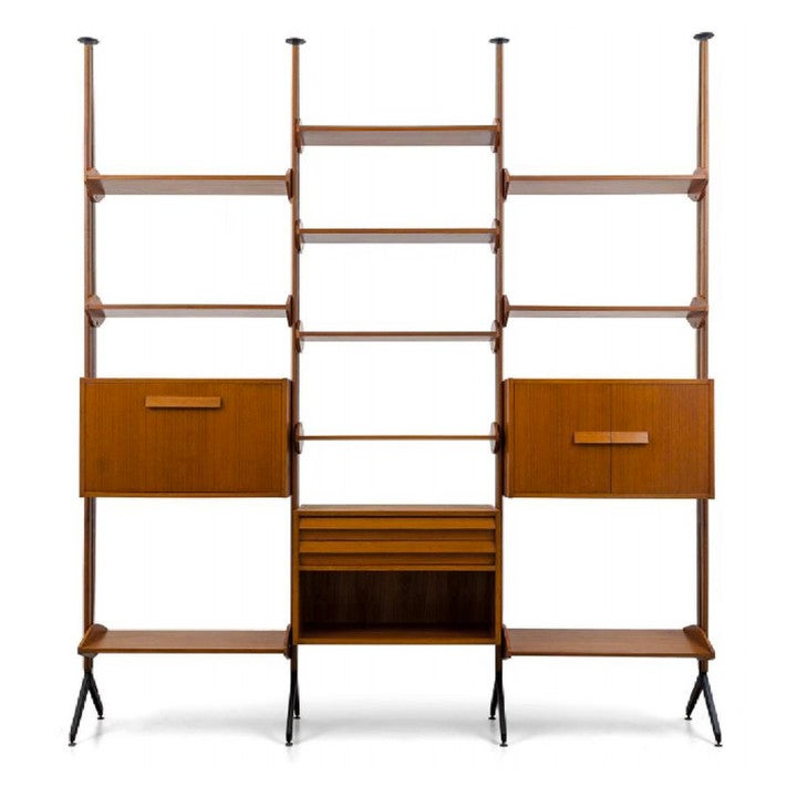 Image of Architectural Shelving System or Room Divider, Italy 1960s