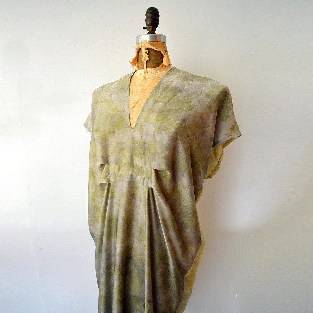 Image of bronze easy kaftan dress