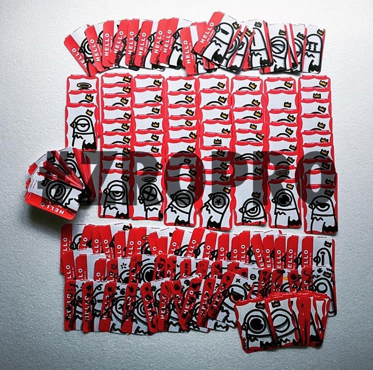 Image of Hand Drawn Slaps!