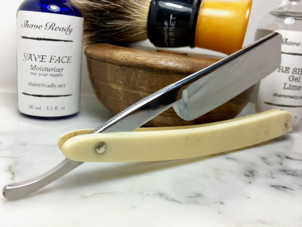 Image of Heljestrand Royal Kindal MK Stainless Steel Shave Ready Straight Razor