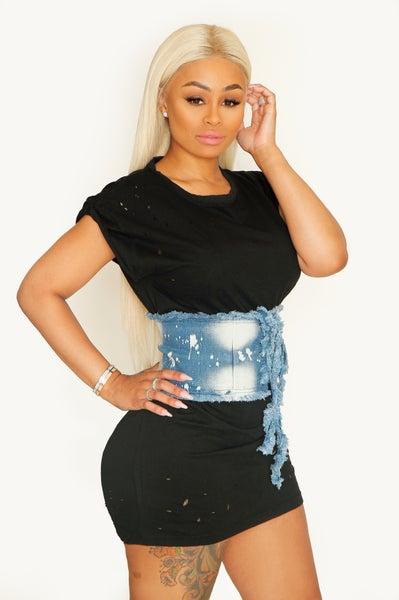Image of Modesty Tee & XO Corset