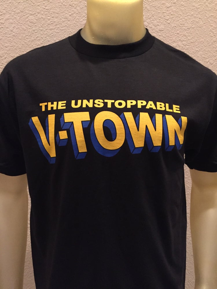 Image of The Unstoppable V-TOWN Of the Golden Statement