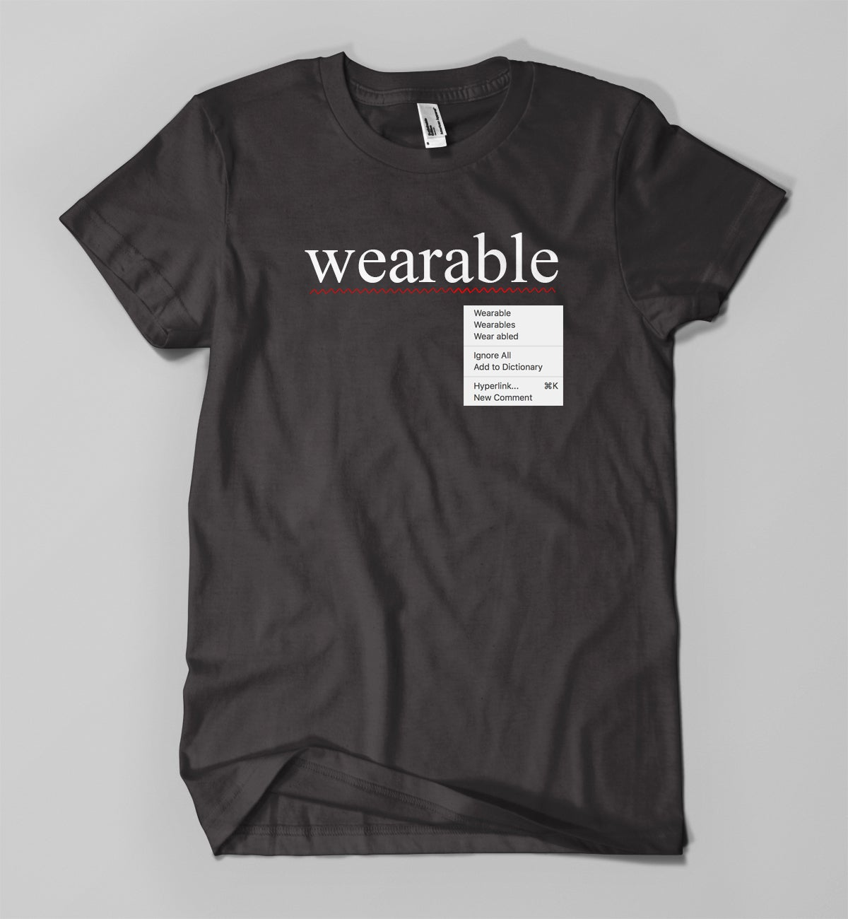 Image of Spell check Wearable