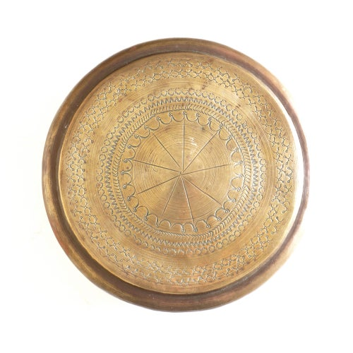 Image of  Round Indian Brass Pot