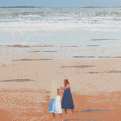 Image of Sisters Lusty Glaze Newquay Cornwall