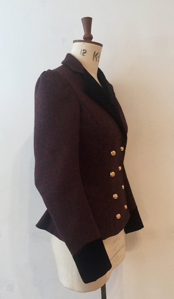 Image of Double breasted Concours tweed jacket