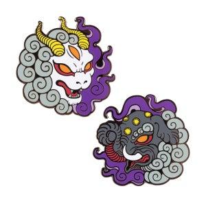 Image of Hakutaku & Baku Enamel Pins