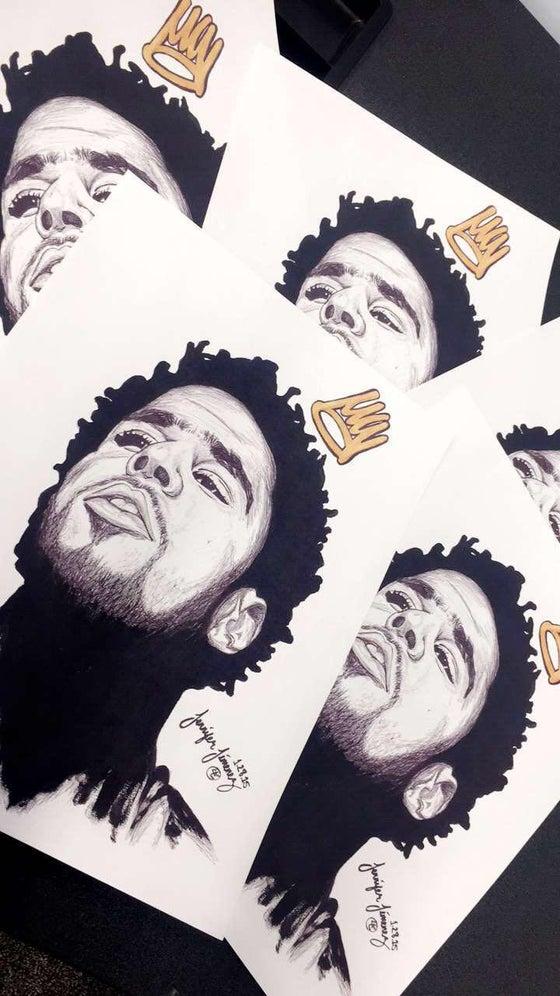 Image of J.Cole x Crown