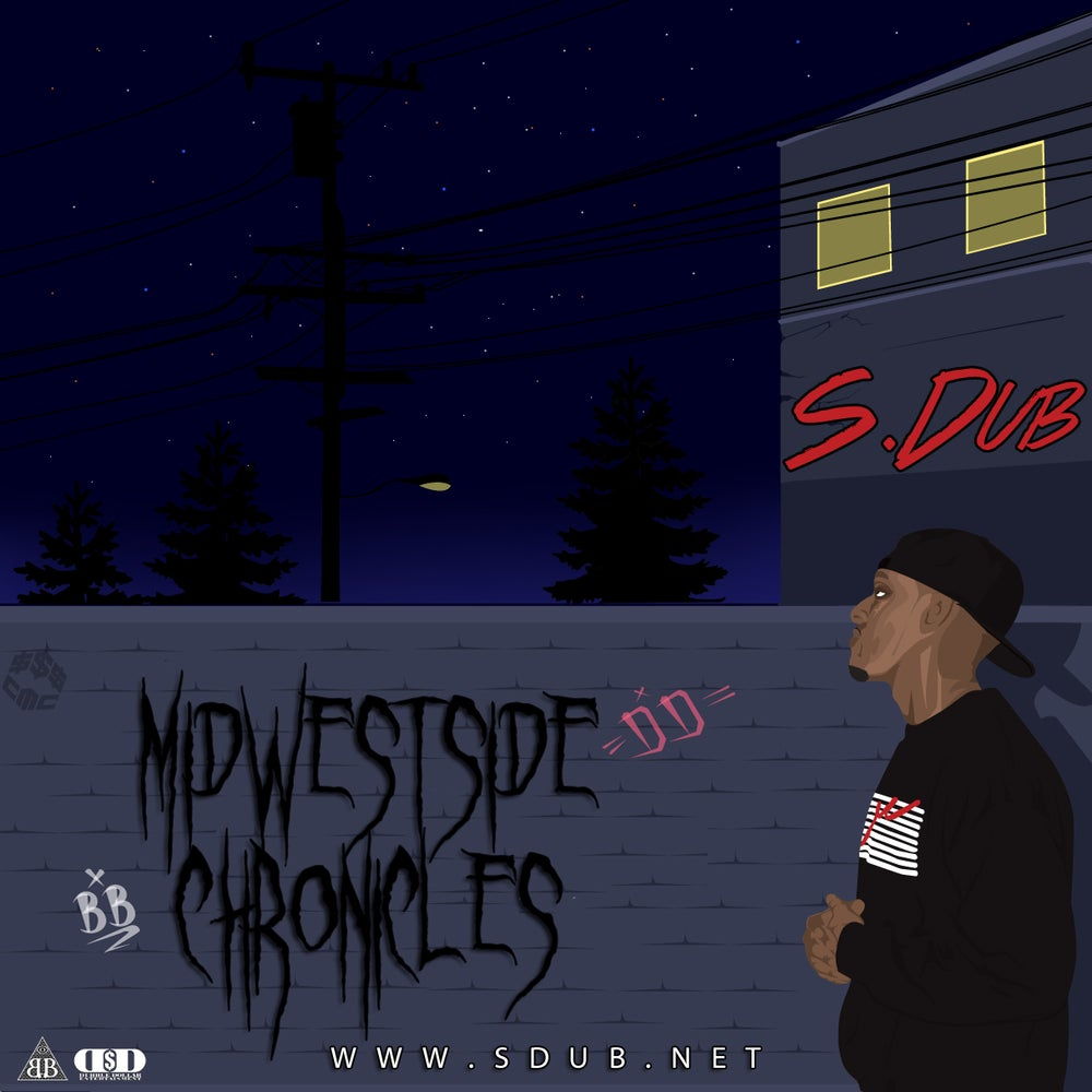 """Image of S.Dub """"Midwestside Chronicles"""" CD"""