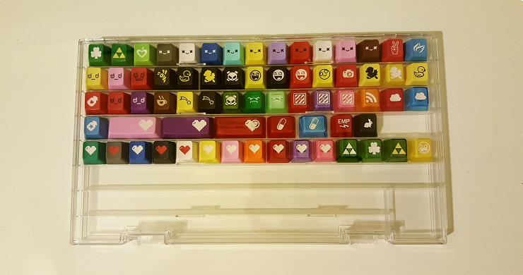 Image of New Plexiglass Keycap Display Cases
