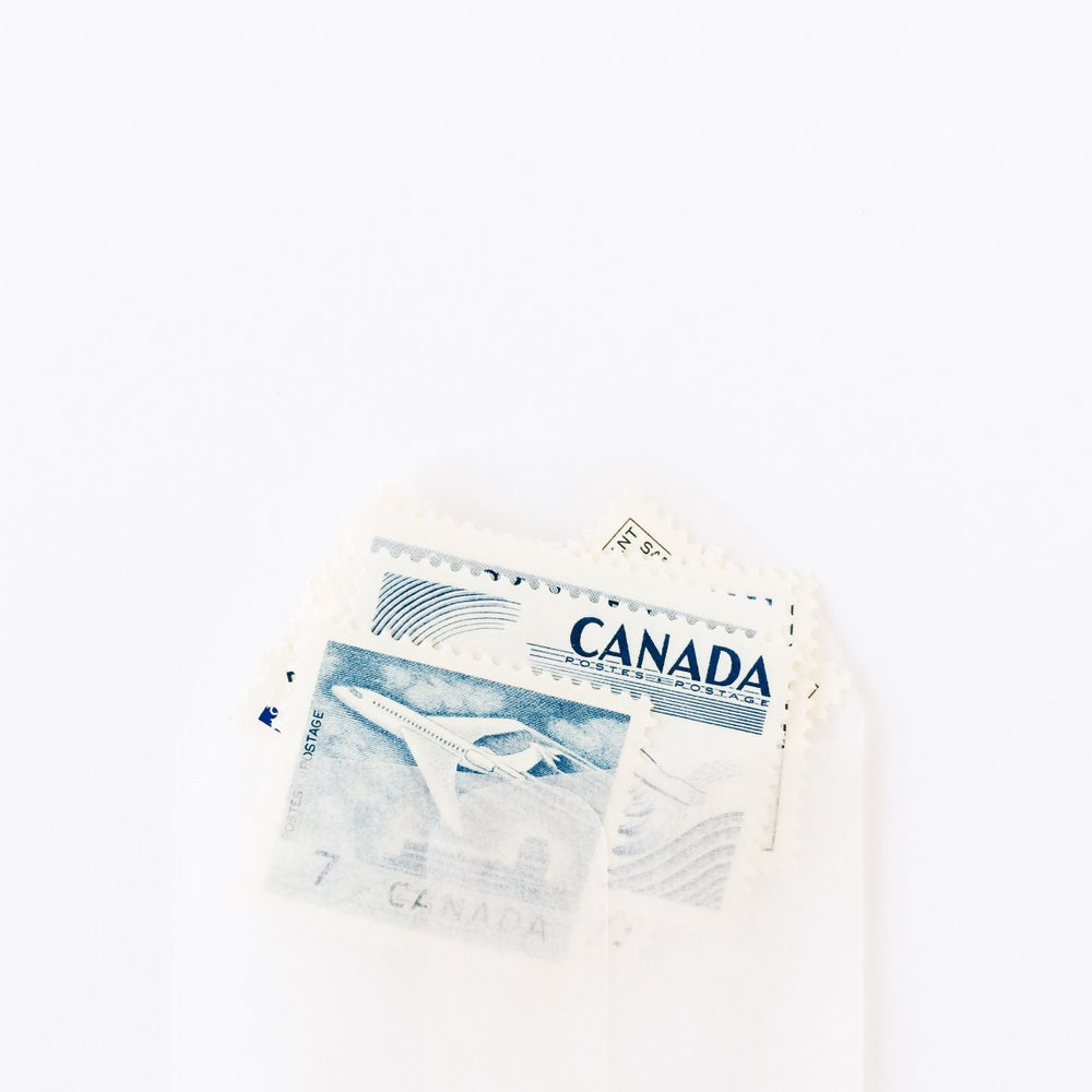 Image of Vintage Canadian Domestic Stamp Pack