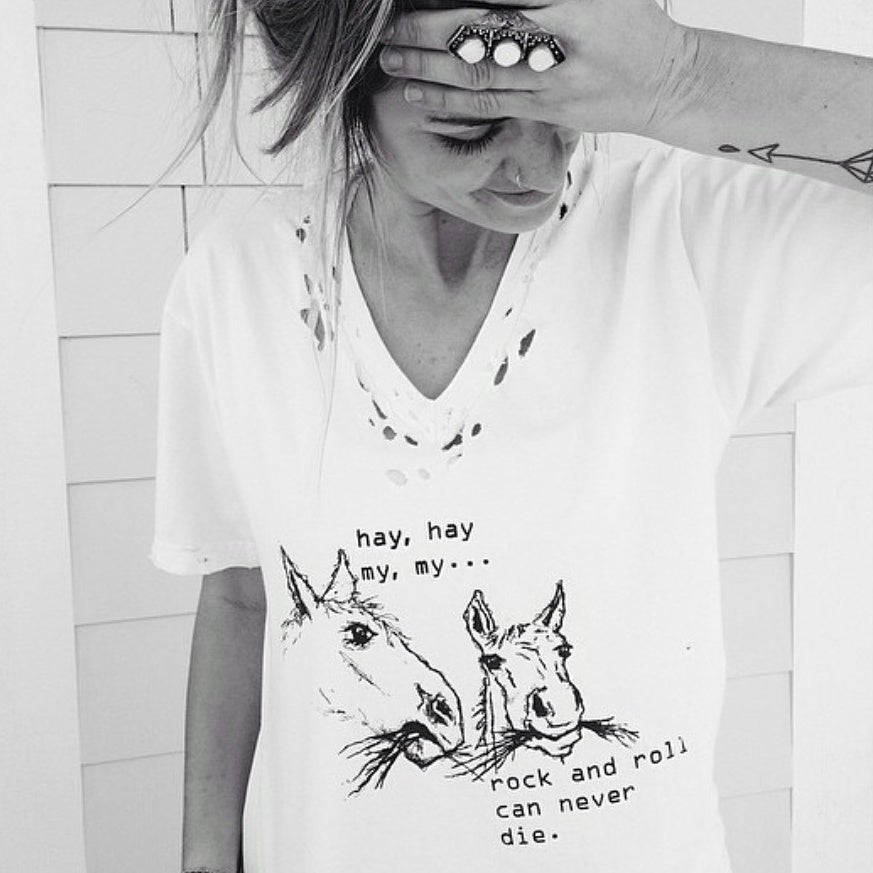 Image of Neil Young tee