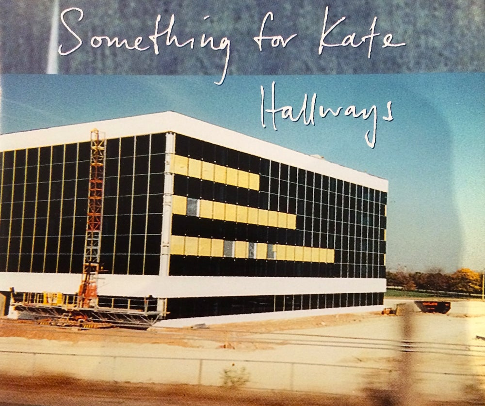 Image of Something for Kate - 'Hallways' CD single