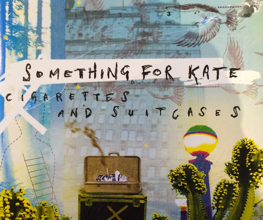 Image of Something for Kate - 'Cigarettes & Suitcases' CD single Original
