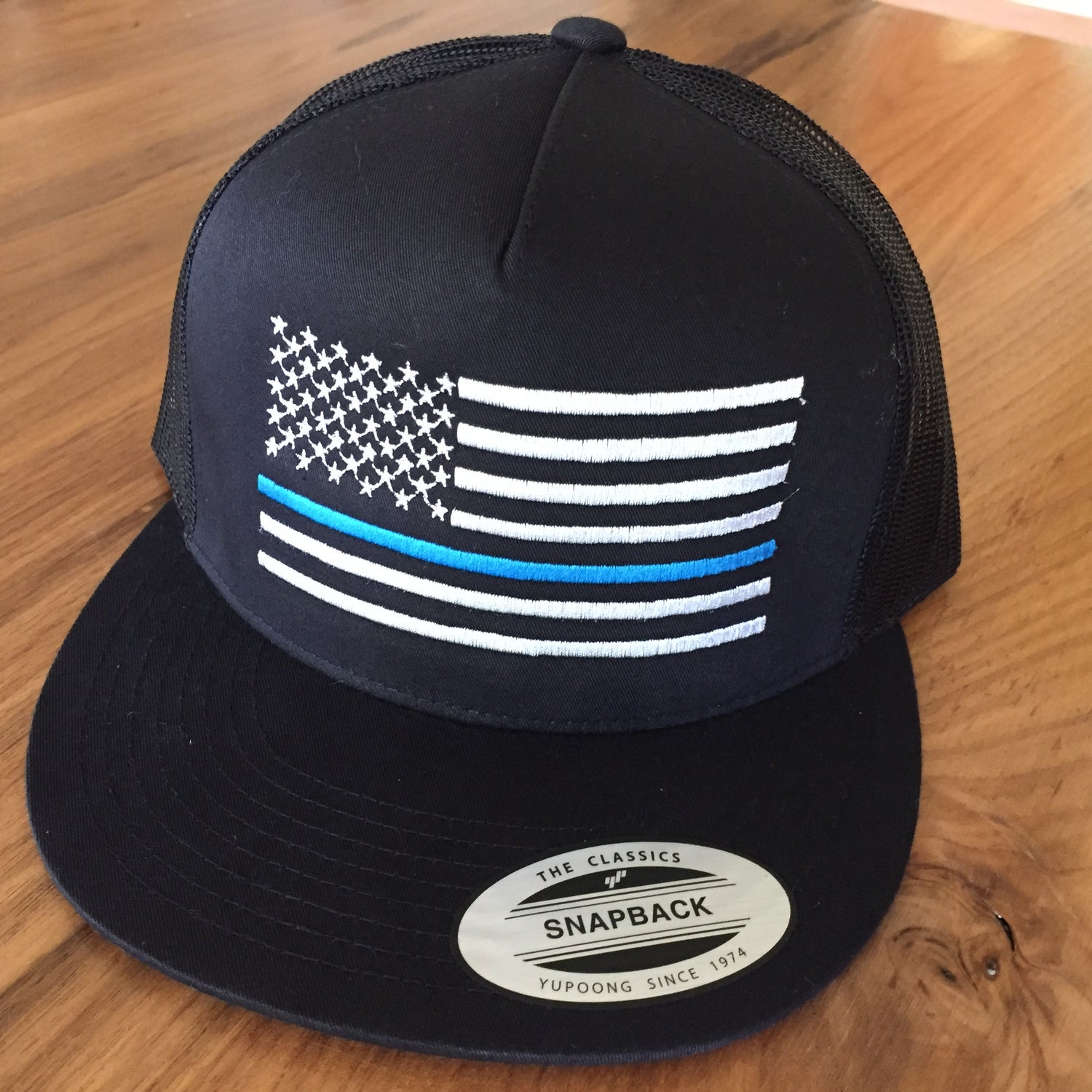 Image of Thin Blue Line Support Hat