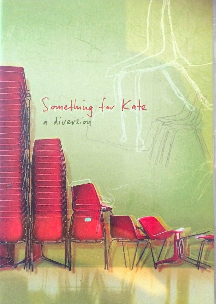 Image of Something for Kate - 'A Diversion' DVD Original