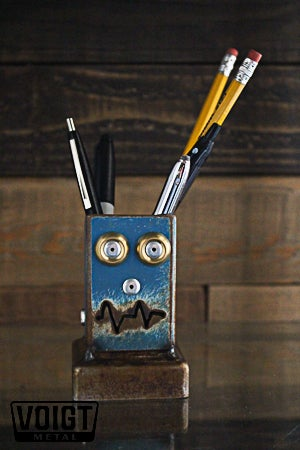 Image of Desk organizer/Small: Pencil Pusher Robot B