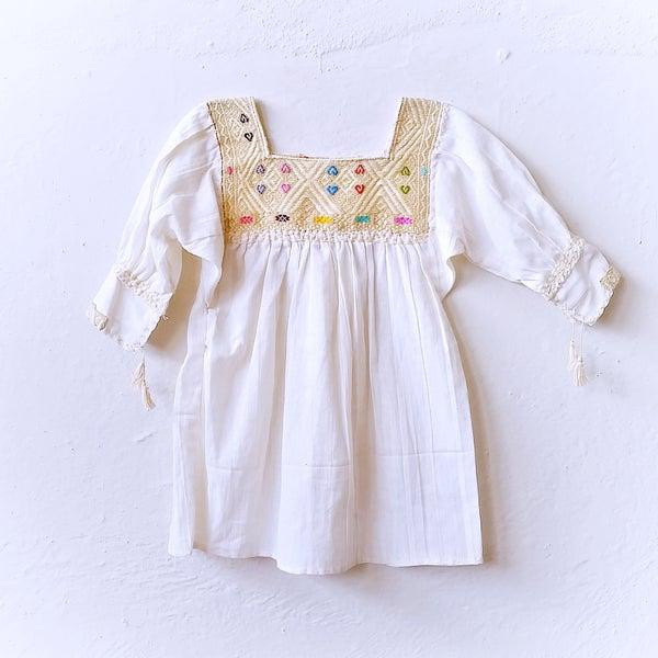 Image of LUXE Organic Crema Dress