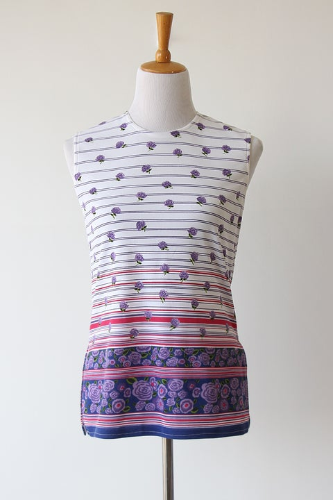 Image of Purple Garden Blouse