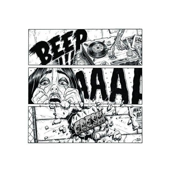 "Image of Ugly Mac Beer - Beep ahhh Fresh 7"" White Vinyl"