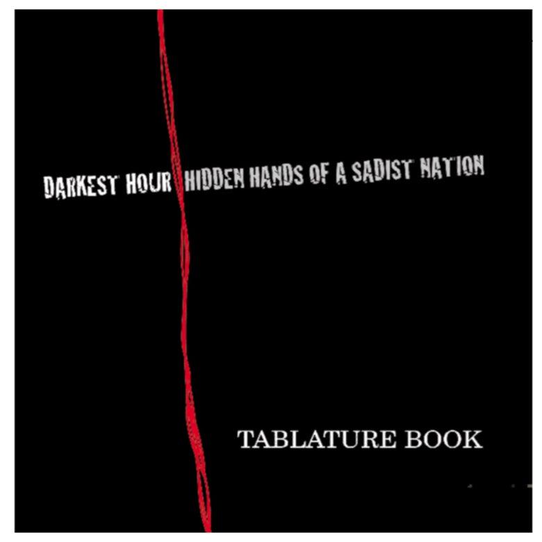 Image of Darkest Hour - Hidden Hands of A Sadist Nation - Guitar PDF Transcription.