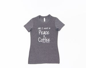 Image of Peace&Coffee tee