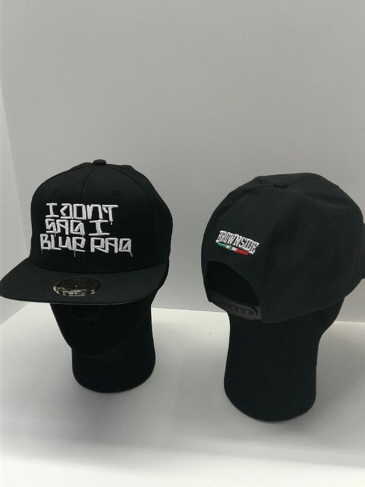 Image of I DON'T SAG I BLUE RAG CAP (SNAPBACK)
