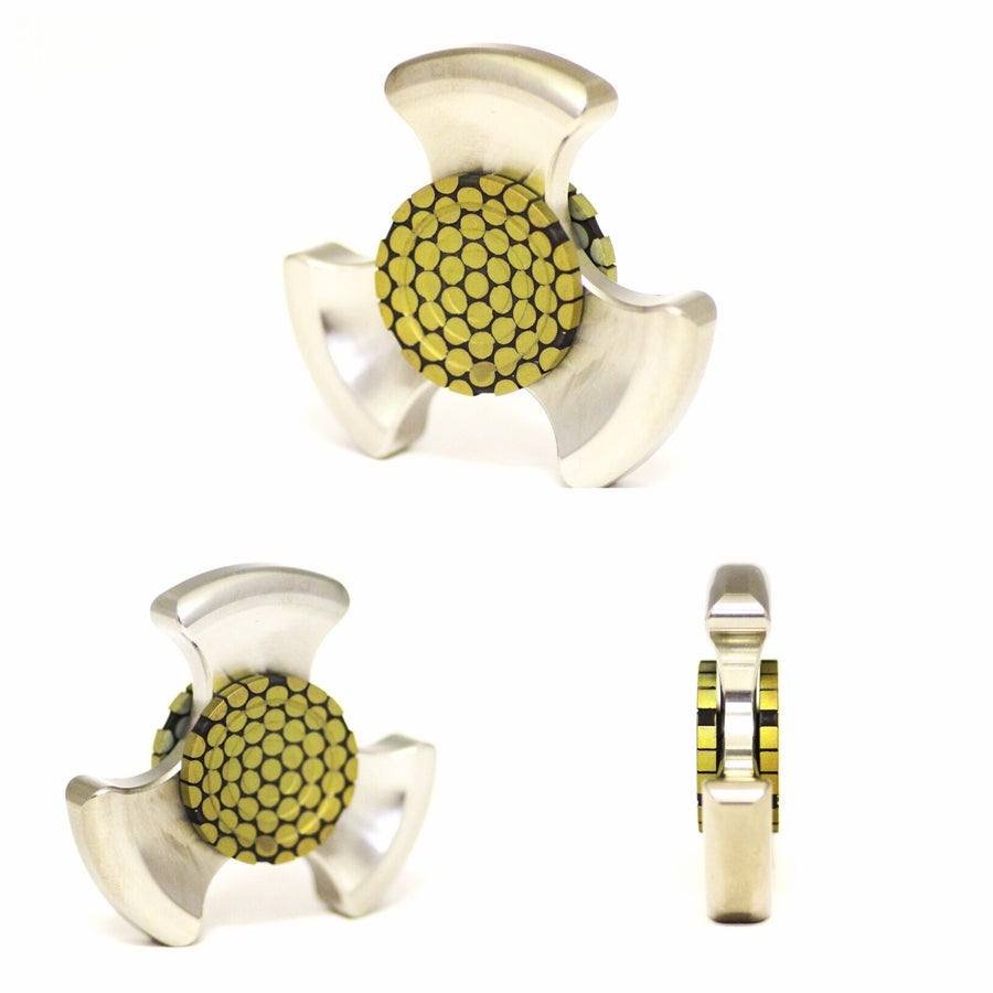 Image of Yellow Supercondutor Buttons
