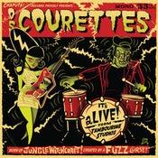 "Image of 10"" LP Os Courettes : It's Alive !  Ltd Edition 'Swamp Green Vinyl'"