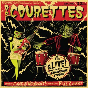 "Image of 10"" LP Os Courettes : It's Alive !  Ltd Edition 'Swamp Green Vinyl'"