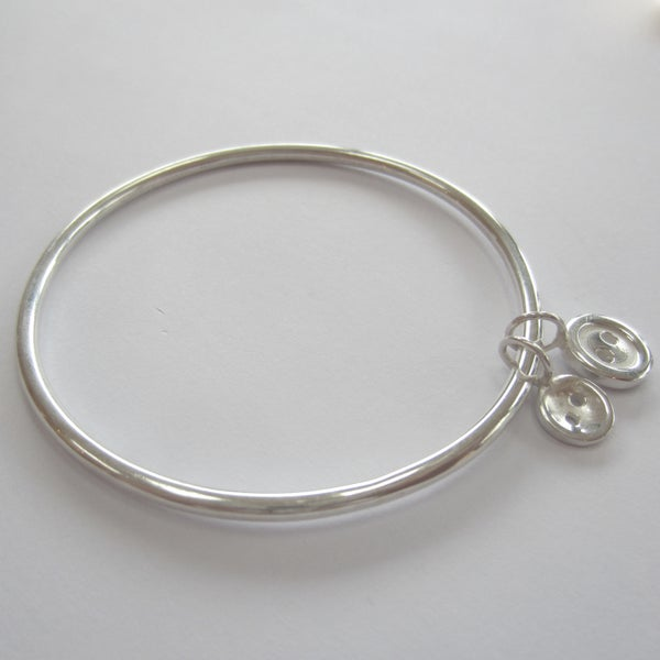 Image of Button bangle, button bracelet