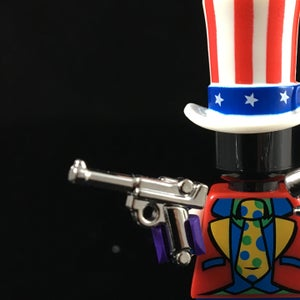Image of CHROMED Brickarms Luger
