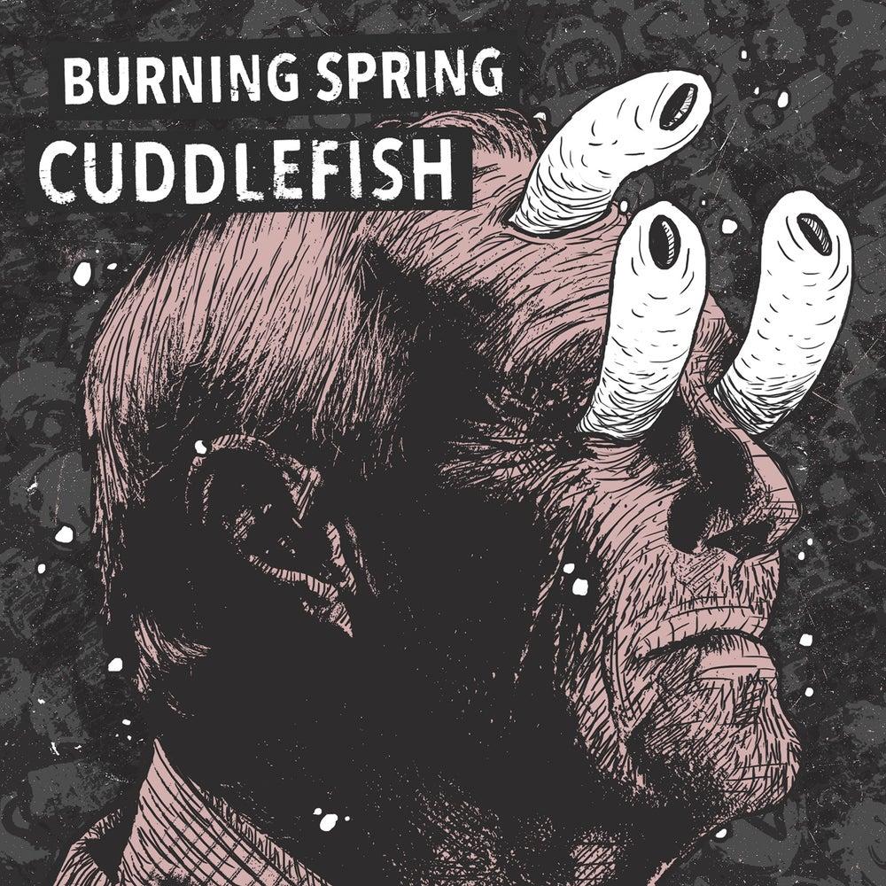 "Image of CUDDLEFISH / BURNING SPRING split 7"""