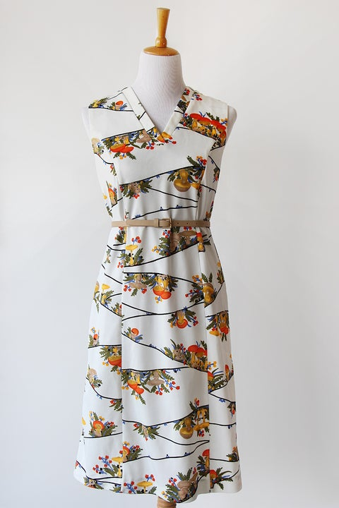 Image of SOLD Enchanted Mushroom Forest Dress