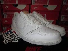 "Air Jordan I (1) Retro Low ""White/Vachetta Tan"" - FAMPRICE.COM by 23PENNY"
