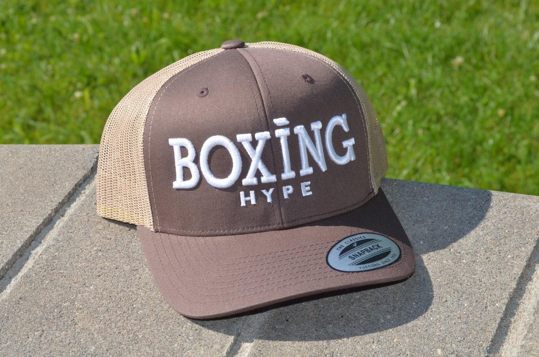 Image of BoxingHype logo Black Tees