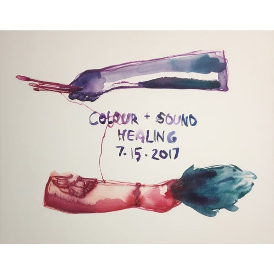 Image of Colour + Sound Healing
