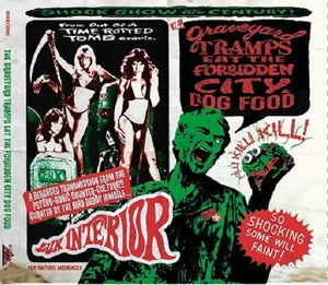 Image of OUT NOW. CD : Graveyard Tramps Eat The Forbidden City Dogfood. Complete Vip Vop Tape.