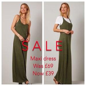Image of Sale maxi dress