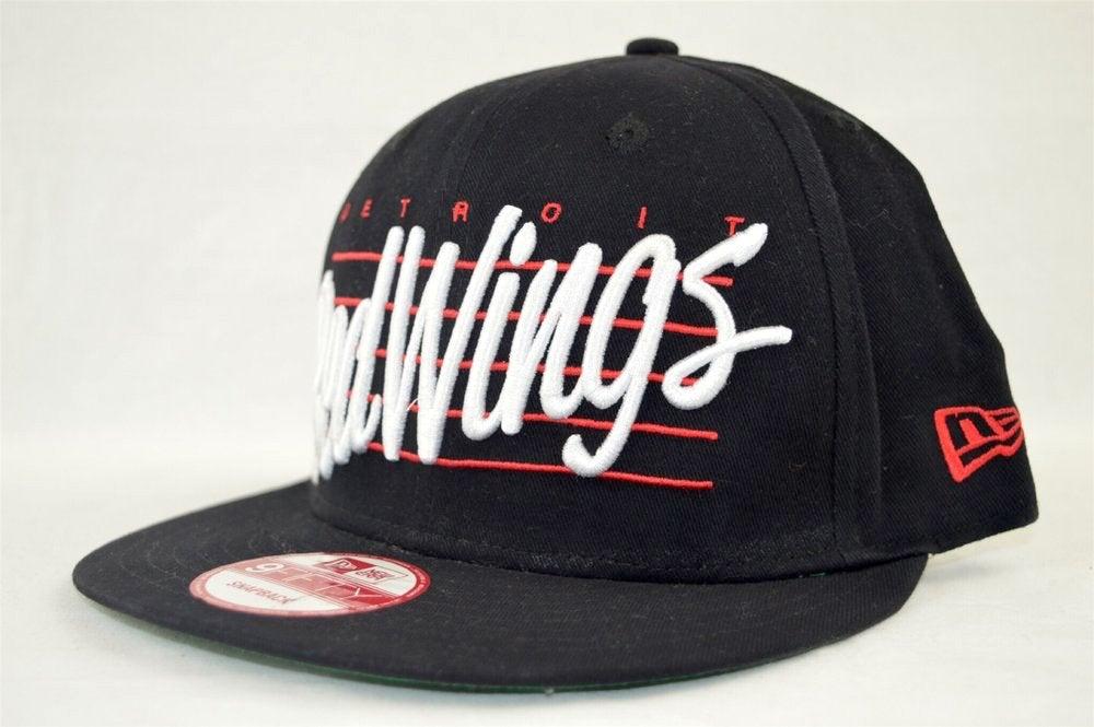Image of Detroit Red Wings Script New Era 950 Snapback