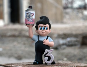 Image of Kid3EYES Figure and Packaging