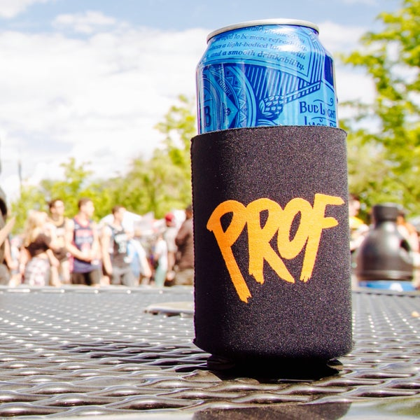"Image of PROF ""P Bomb"" Koozie - Black"