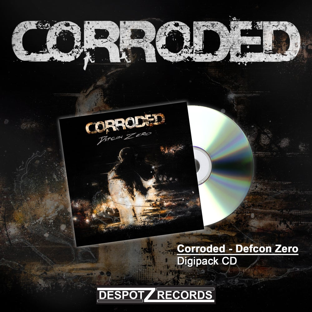 Image of Corroded - Defcon Zero (Digipack CD)