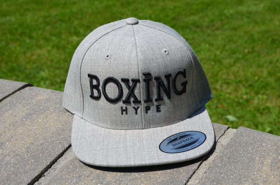 Image of Classic Gray BoxingHype Snapbacks