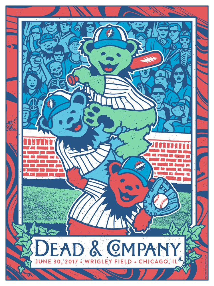 Image of Dead & Company 2017 - Chicago Wrigley Field