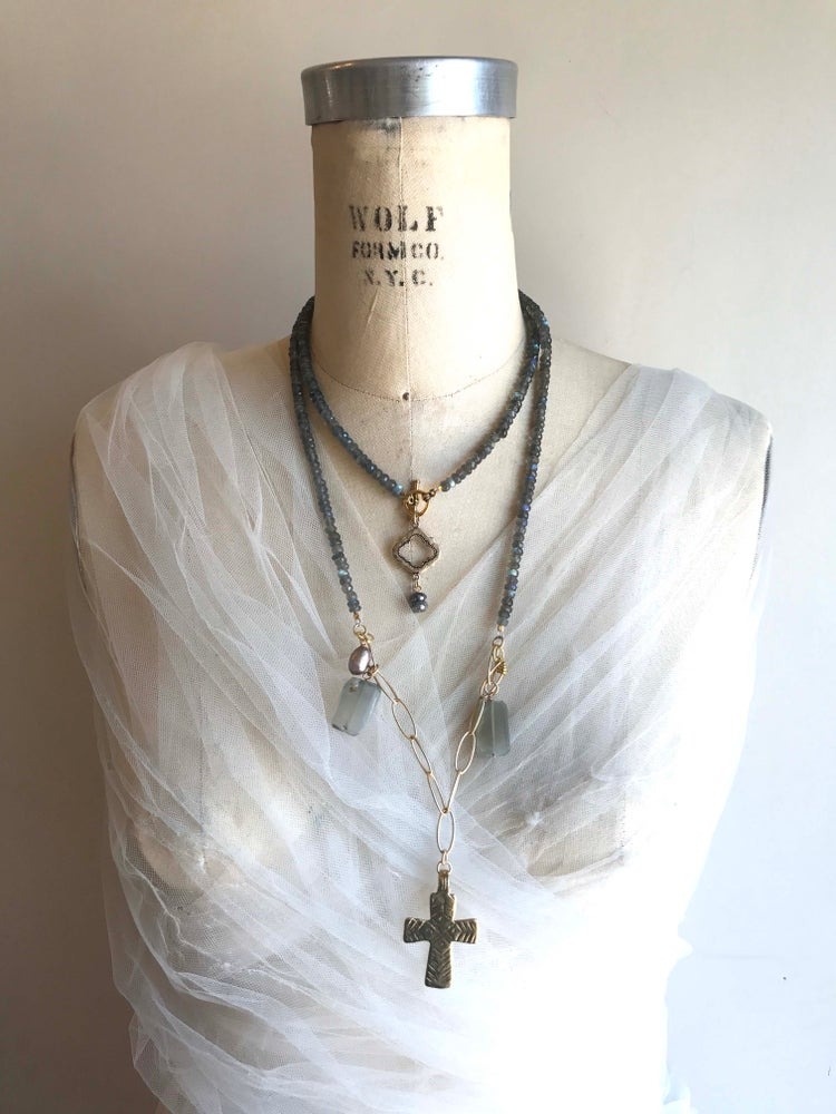 Image of Long Ethnic Necklace