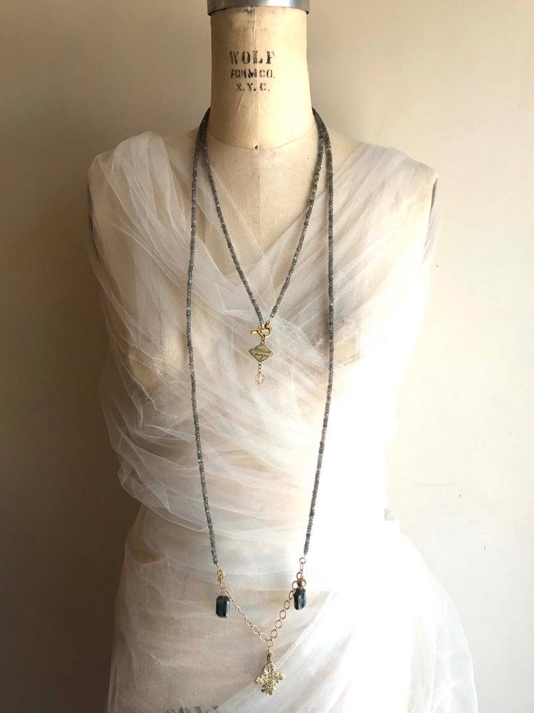 Image of Extra Long Ethnic Necklace