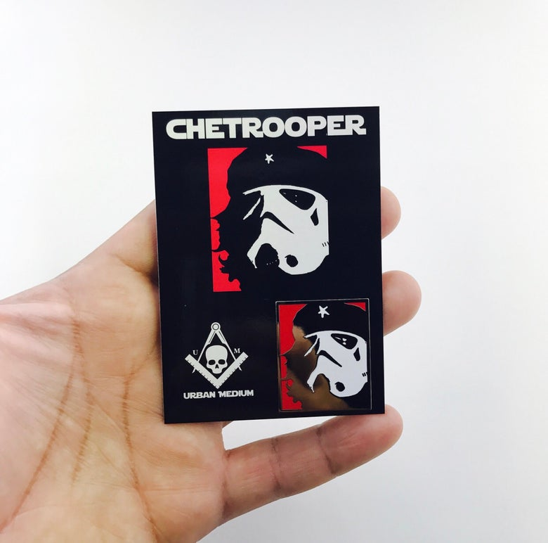 Image of CheTrooper Enamel Pin